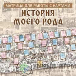 Матрица для работы с картами «История моего Рода»