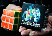 Магический кубик Рубика  Flash Cube Restore  - Trick