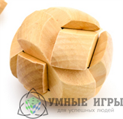 Головоломка деревянная 6 см