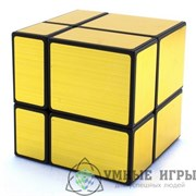 ShengShou Mirror Blocks 2x2 Gold Зеркальный куб