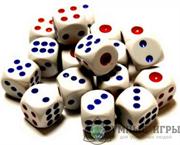 Кости игральные Кубики Дайсы d6